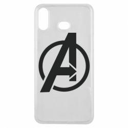 Чохол для Samsung A6s Сaptain Аmerica logo