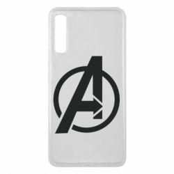 Чохол для Samsung A7 2018 Сaptain Аmerica logo
