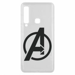 Чохол для Samsung A9 2018 Сaptain Аmerica logo