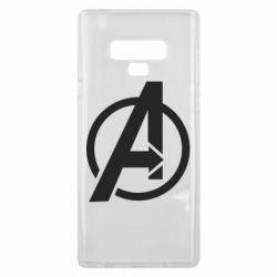 Чохол для Samsung Note 9 Сaptain Аmerica logo
