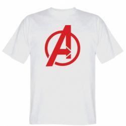 Чоловіча футболка Сaptain Аmerica logo