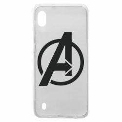 Чохол для Samsung A10 Сaptain Аmerica logo