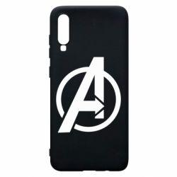 Чохол для Samsung A70 Сaptain Аmerica logo
