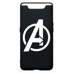 Чохол для Samsung A80 Сaptain Аmerica logo