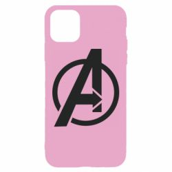 Чохол для iPhone 11 Сaptain Аmerica logo