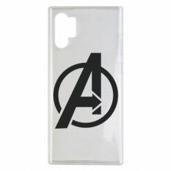 Чохол для Samsung Note 10 Plus Сaptain Аmerica logo
