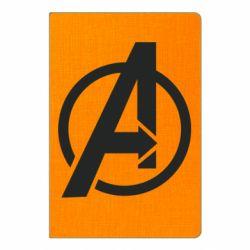 Блокнот А5 Сaptain Аmerica logo