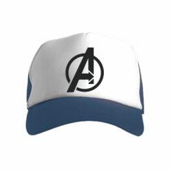 Дитяча кепка-тракер Сaptain Аmerica logo
