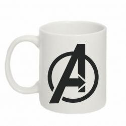 Кружка 320ml Сaptain Аmerica logo