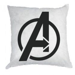 Подушка Сaptain Аmerica logo