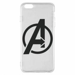 Чохол для iPhone 6 Plus/6S Plus Сaptain Аmerica logo