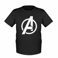 Дитяча футболка Сaptain Аmerica logo
