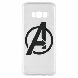 Чохол для Samsung S8 Сaptain Аmerica logo