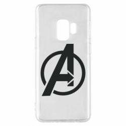 Чохол для Samsung S9 Сaptain Аmerica logo