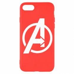Чохол для iPhone 8 Сaptain Аmerica logo