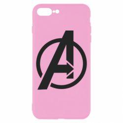 Чохол для iPhone 8 Plus Сaptain Аmerica logo