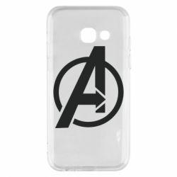 Чохол для Samsung A3 2017 Сaptain Аmerica logo