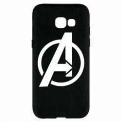 Чохол для Samsung A5 2017 Сaptain Аmerica logo