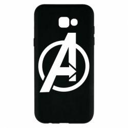 Чохол для Samsung A7 2017 Сaptain Аmerica logo