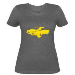 Женская футболка Ford mustang