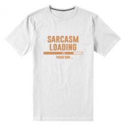 Чоловіча стрейчева футболка Sarcasm loading
