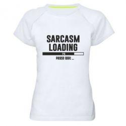 Жіноча спортивна футболка Sarcasm loading