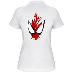 Жіноча футболка поло Сareless art Spiderman
