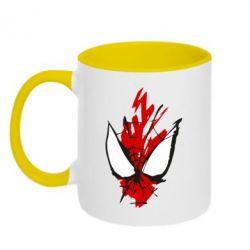 Кружка двоколірна 320ml Сareless art Spiderman