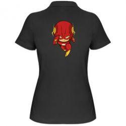 Женская футболка поло Сartoon Flash - FatLine