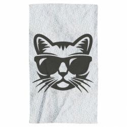 Полотенце Сat in sunglasses