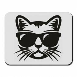 Коврик для мыши Сat in sunglasses