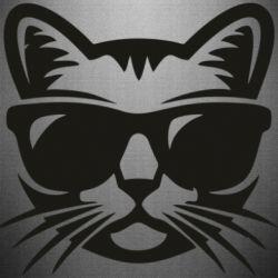 Наклейка Сat in sunglasses