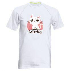 Чоловіча спортивна футболка Сaturday