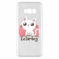 Чохол для Samsung S8 Сaturday