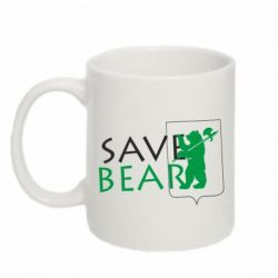 Кружка 320ml Save Bears - FatLine