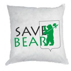 Подушка Save Bears - FatLine