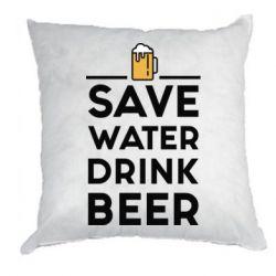 Купить Подушка Save water Drink beer, FatLine