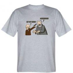 Мужская футболка Say my name!! - FatLine