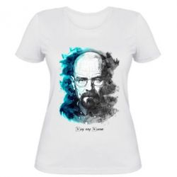 Женская футболка Say my name