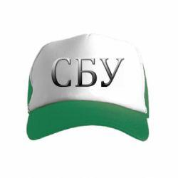 Детская кепка-тракер СБУ серый