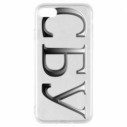 Чехол для iPhone 7 СБУ серый