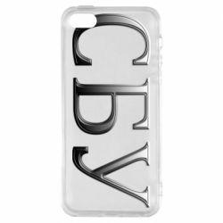 Чехол для iPhone5/5S/SE СБУ серый