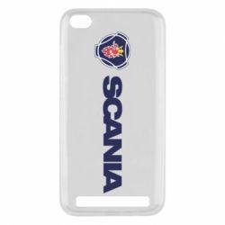 Чехол для Xiaomi Redmi 5a Scania Logo