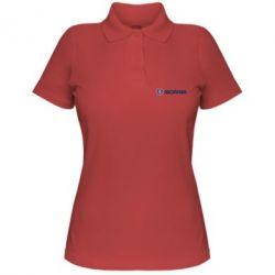 Жіноча футболка поло Scania Logo