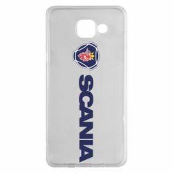 Чохол для Samsung A5 2016 Scania Logo