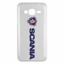 Чохол для Samsung J3 2016 Scania Logo