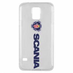 Чохол для Samsung S5 Scania Logo