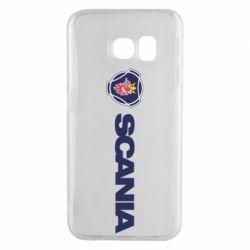 Чохол для Samsung S6 EDGE Scania Logo