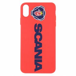 Чохол для iPhone Xs Max Scania Logo