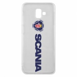 Чохол для Samsung J6 Plus 2018 Scania Logo